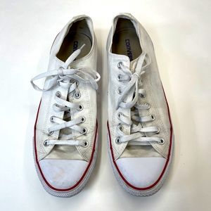 CONVERSE ALL ⭐️STAR Low Top WHITE Size 12
